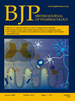 British Journal of Pharmacology
