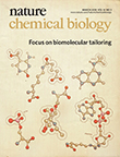 Nature Chemical Biologyの表紙
