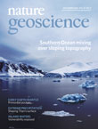 Nature Geoscienceの表紙