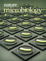 Nature Microbiologyの表紙