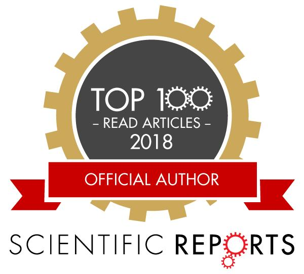 2018 NatureScientific Reports Top-50 (Neuroscience)