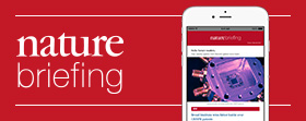 sign up to Nature briefing