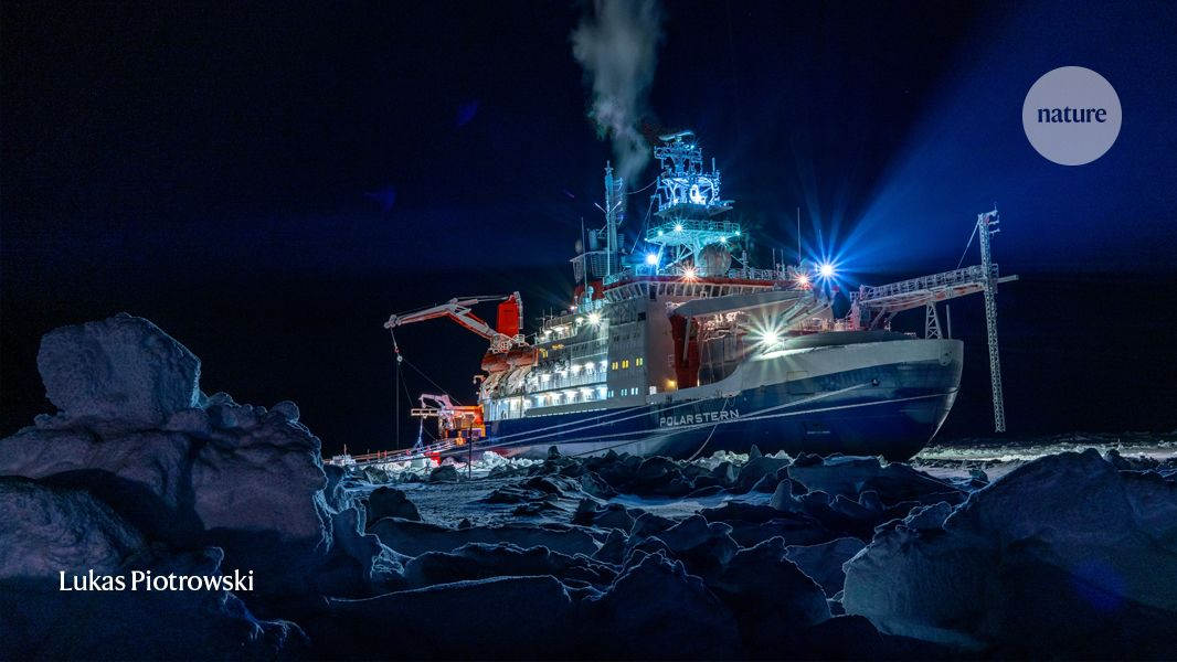 These researchers spent a winter trapped in Arctic ice to capture key climate data