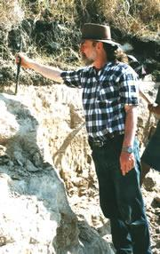 Mike Morwood directed the dig at Liang Bua.