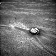 Opportunity spotted Shield rock (above) on 10 January.