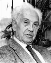 One of the greats: Ernst Mayr helped to reconcile evolution and genetics.