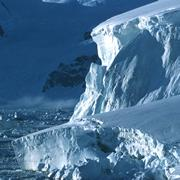 Glaciers on the west coast of the Antarctic Peninsula are beating a retreat.