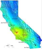 California Earthquake Map Risk.And The Earthquake Forecast Today Is Nature News