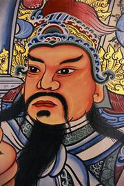 The Manchu warriors took control of China in 1644.