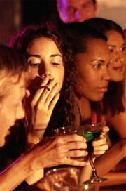 A puff could keep alcohol in your stomach for longer, helping you to stay sober.
