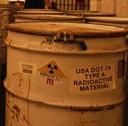 Dirty job: radioactive waste is tough to deal with.
