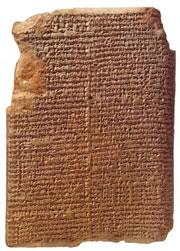 The MUL.APIN tablets record the dates that constellations appeared in the Assyrian sky.
