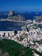 Rio de Janeiro gets hit with flu 2-3 months later than Brazil's northern jungles.