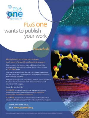 What is the impact factor of PLOS ONE?