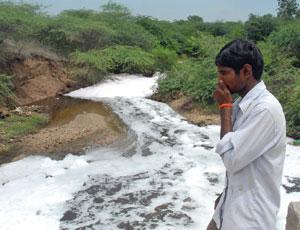 Water tested near Hyderabad contains some of the highest environmental drug levels known.