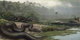 Reconstruction of the giant snake