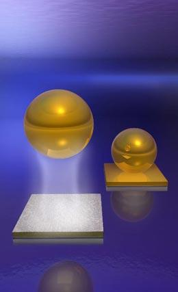 Artist's impression of Casimir force