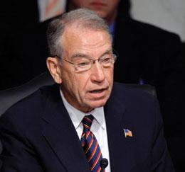 Senator Charles Grassley is keen to expose those who do not adhere to NIH rules.