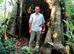 Greg Asner is trying to help tropical countries keep their forests intact.