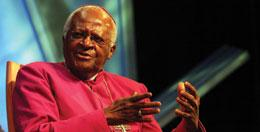 Archbishop Desmond Tutu's genome was chosen to represent the Bantu peoples of southern Africa.