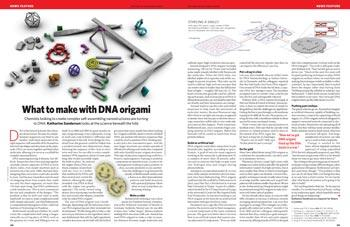 Bioengineering: What to make with DNA origami : Nature News