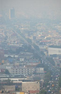Mexico City still has excessive smog despite policies to reduce pollution.