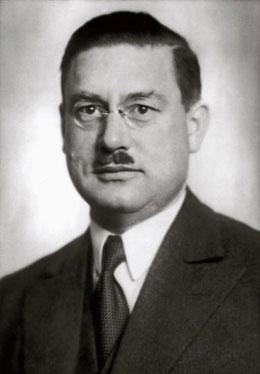 Physicist and Nobel prize winner Peter Debye. 13.11.1936.