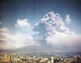 Vesuvius last awoke with a small blast in 1944. A large eruption could unleash incendiary avalanches and ash that would threaten millions of people.