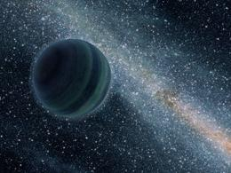 Rogue planet wandering through the galaxy - Image courtesy of NASA/JPL-Caltech/R. Hurt
