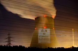 Activists have campaigned against nuclear power in Germany.