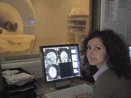 At a research institute in Mannheim, Leila Haddad scolds subjects to stress them while imaging their brains.