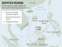 Disputed regions