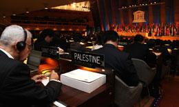 UN agencies risk their budgets by voting for Palestinian membership.