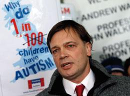 Andrew Wakefield's discredited theory linking vaccination and autism stirred public fears.