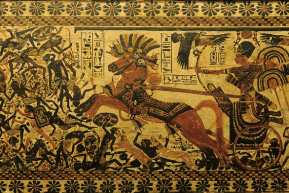Ancient Egyptian chariot trappings rediscovered : Nature News ...