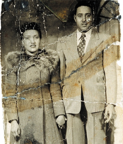 Henrietta Lacks e o marido David @ Nature/Lacks family/ITV/Rex Features