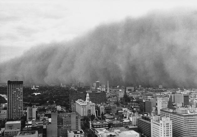 @ Nature/Australia Bureau of Meteorology/Trevor Farrar
