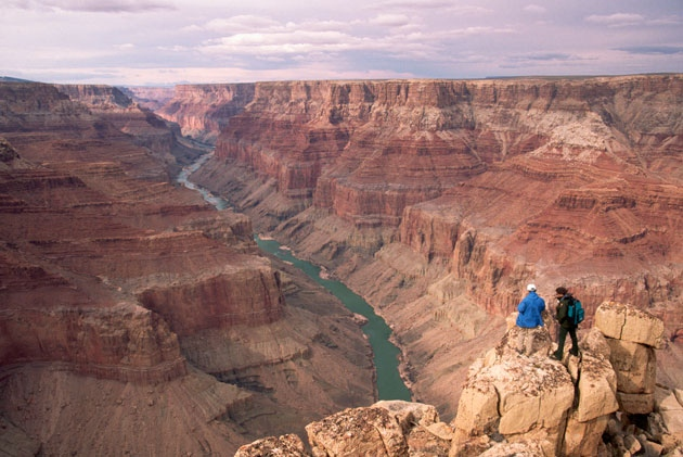Can radiocarbon dating be used to find the age of rocks from the grand canyon