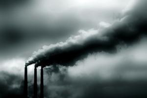 Utsläpp av växthusgasen koldioxid
