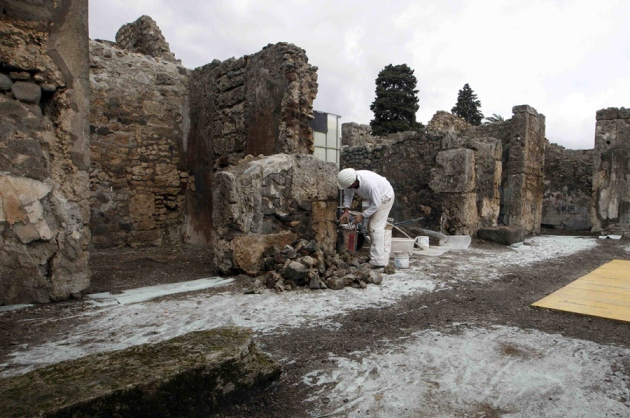 Sister city inspires pompeii rescue nature news amp comment