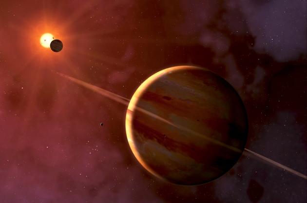 Sẽ khó khăn hơn để tìm kiếm các hành tinh có khả năng tồn tại sự sống gần các sao lùn đỏ. Ảnh: MARK GARLICK/SCIENCE PHOTO LIBRARY