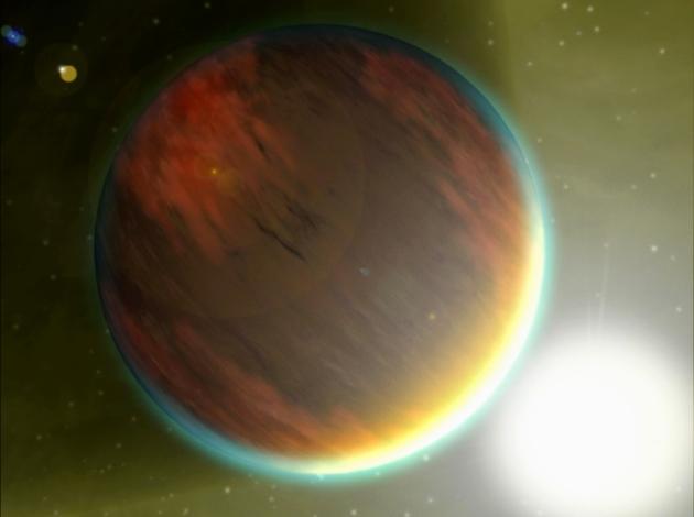 exoplanet landscape orbiting giant planet - photo #47