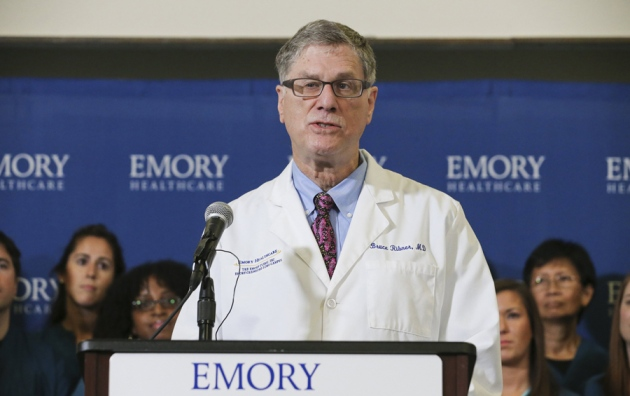 Ebola doctor reveals how infected Americans were cured