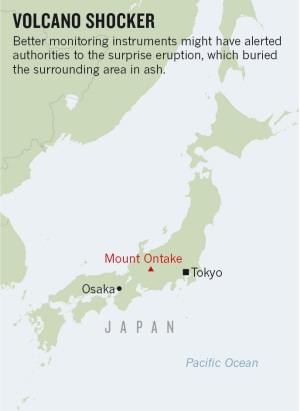 Why Japan Missed Volcanos Warning Signs Nature News Comment - Japan map volcanoes