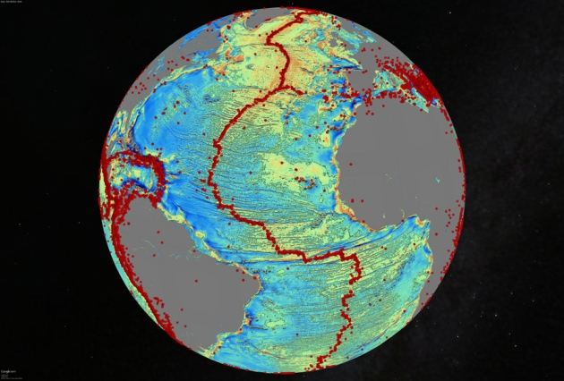 Gravity Map Uncovers Sea-floor Surprises... 01_atlantic_quakes_noland900