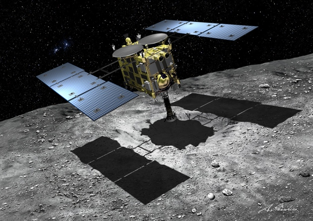 Hayabusa-2 was due to blast off this weekend on a mission to asteroid 1999 JU3.