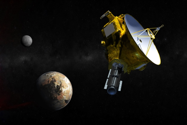 10_SatelliteApproachingPluto%20copy - Our Sentimental Journey with Pluto - Science and Research