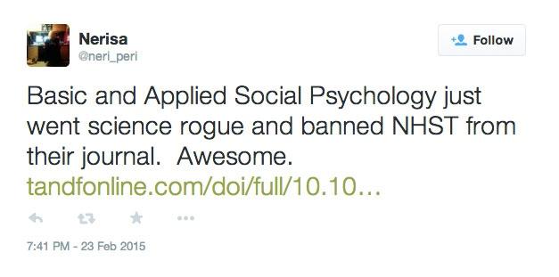 Psychology Journal Bans P Values Nature News Comment