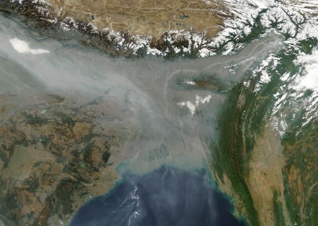 @ Nature/Jeff Schmaltz, LANCE MODIS Rapid Response/NASA