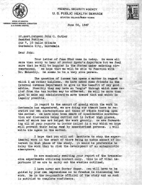 Human experiments first do harm nature news comment letters between john cutler and his supervisor show him trying to keep details of the experiments secret and also demonstrate how he justified the research spiritdancerdesigns Images